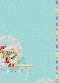 Studiolight Achtergrondpapier Flower Delight BASISFD184 per vel