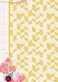 Studiolight Achtergrondpapier Flower Delight BASISFD186 per vel