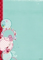 Studiolight Achtergrondpapier Flower Delight BASISFD187