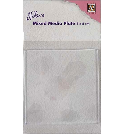 Mixed Media Plate